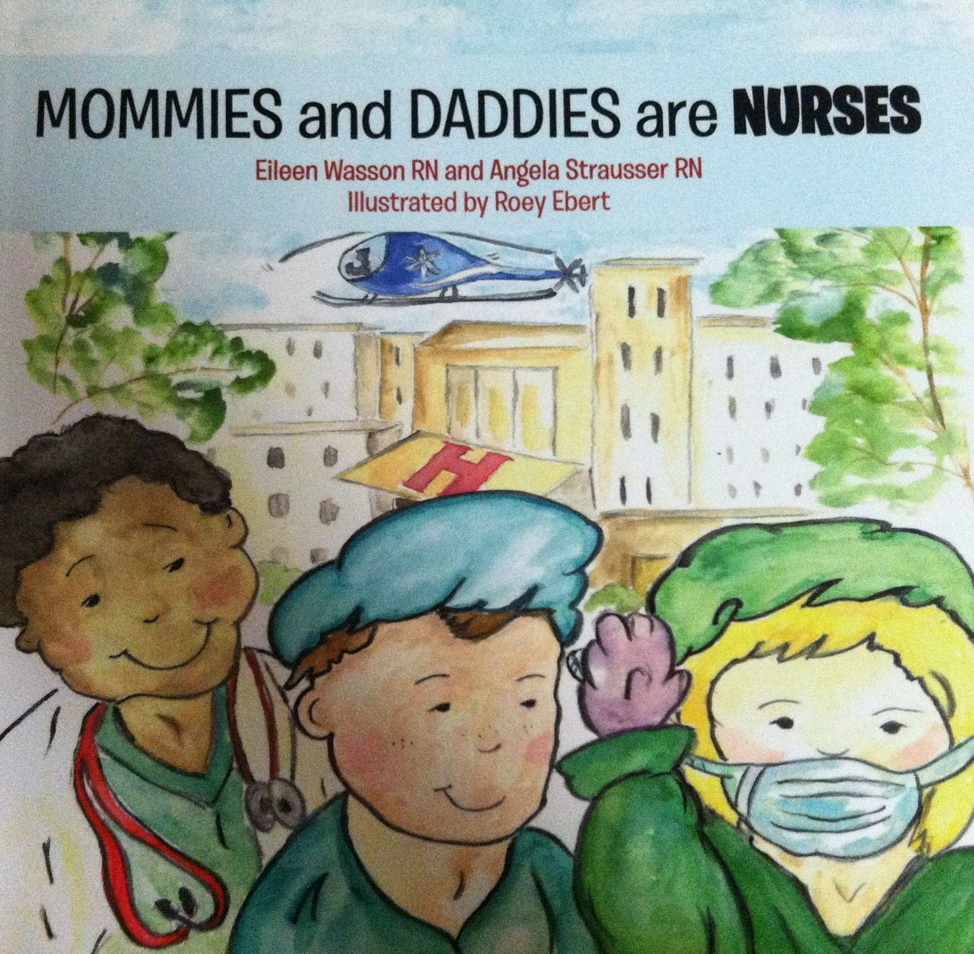 Children S Book About Nurses For 3 7 Year Olds