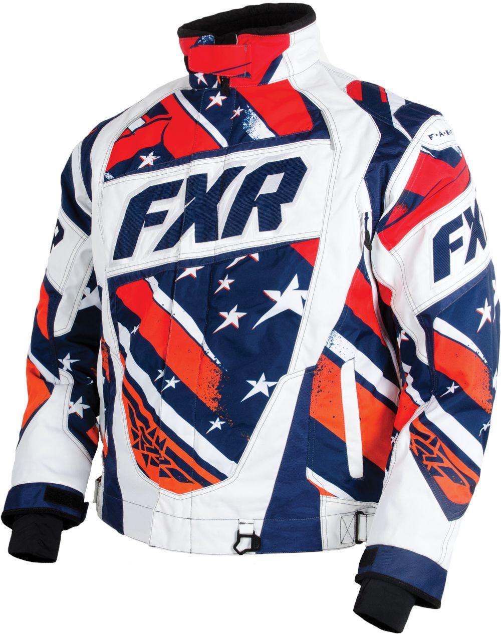 FXR Racing - 2015 Snowmobile Apparel - Men's Helix Jacket
