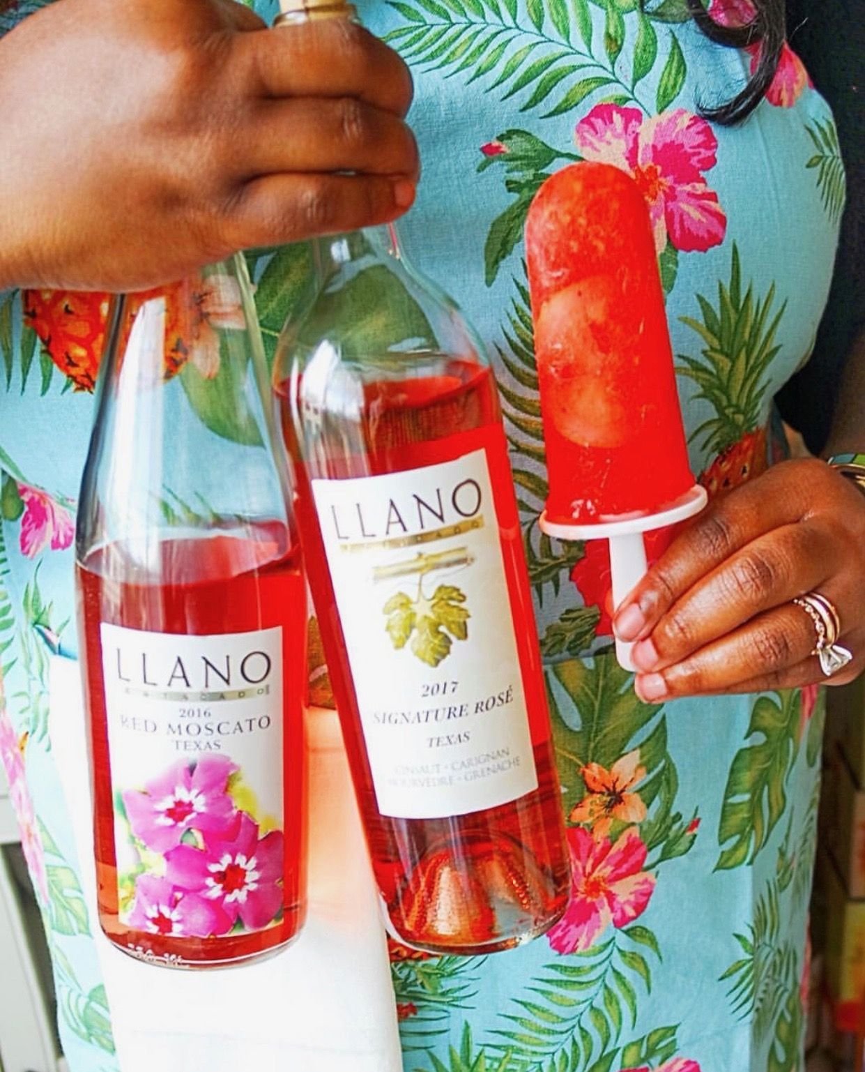 This Frozen Treat Featured From Thehangrywoman Is Sure To Cool You Off Wine Bottle Frozen Treat Rose Wine Bottle