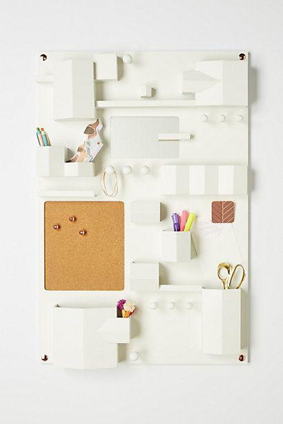 Hanging Desk Organizer crafty cute  quirky Desk organization
