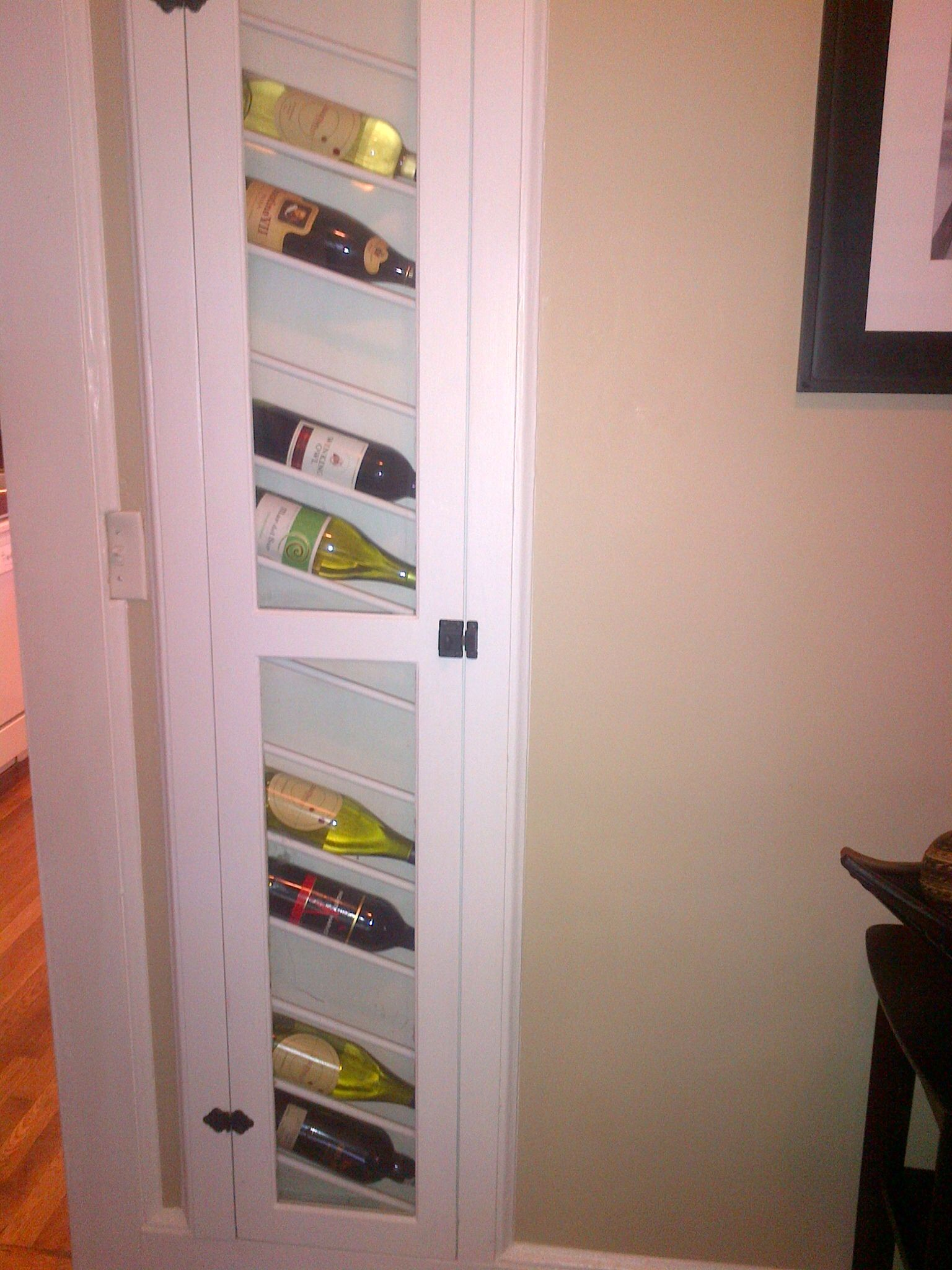 Best use of an old ironing board cabinet I've ever seen | Crazy ...