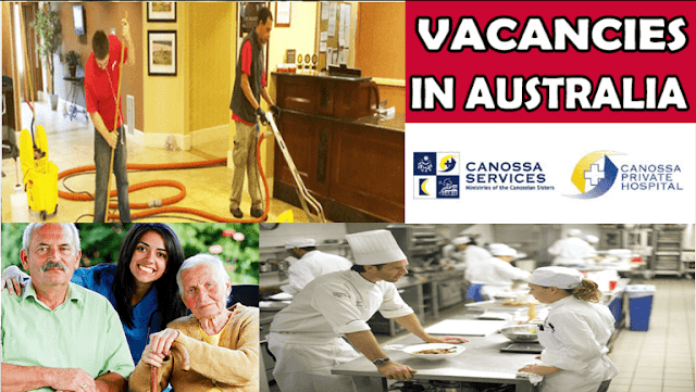 Work Opportunities At Canossa Services Australia Work Opportunities Canossa Australia