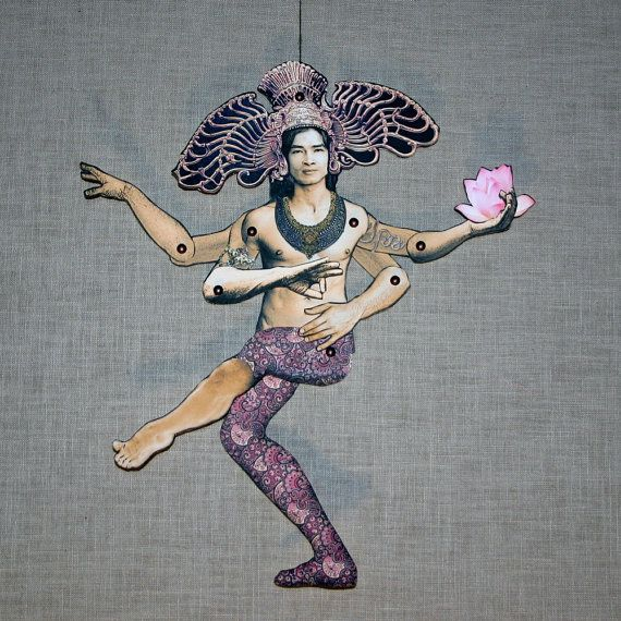 Lord Shiva and Goddess Durga DIY paper dolls digital DOWNLOAD