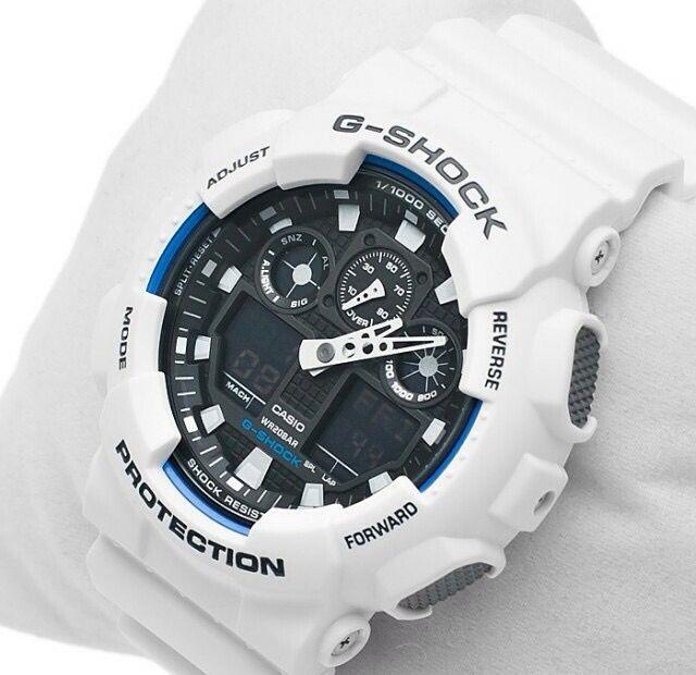 Casio G-Shock White