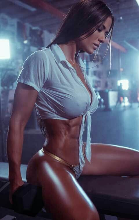 Babe in the gym