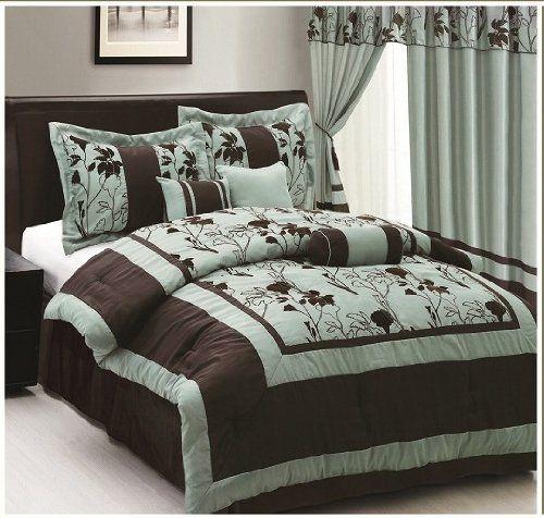 7 Piece Alexandria Aqua King Comforter Set By Jr Home 89 99