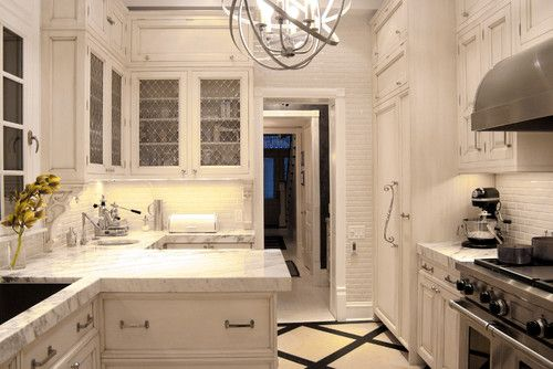 Traditional Kitchen Galley Kitchen Design, Pictures, Remodel, Decor and Ideas - page 7
