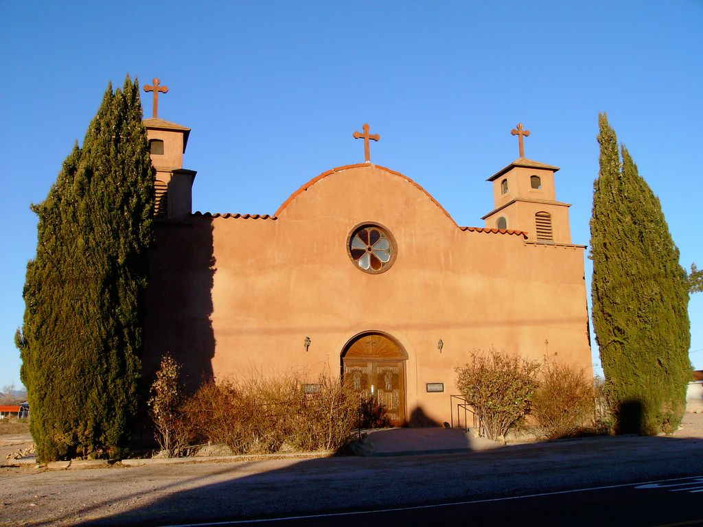 Old Catholic Church San Antonio New Mexico