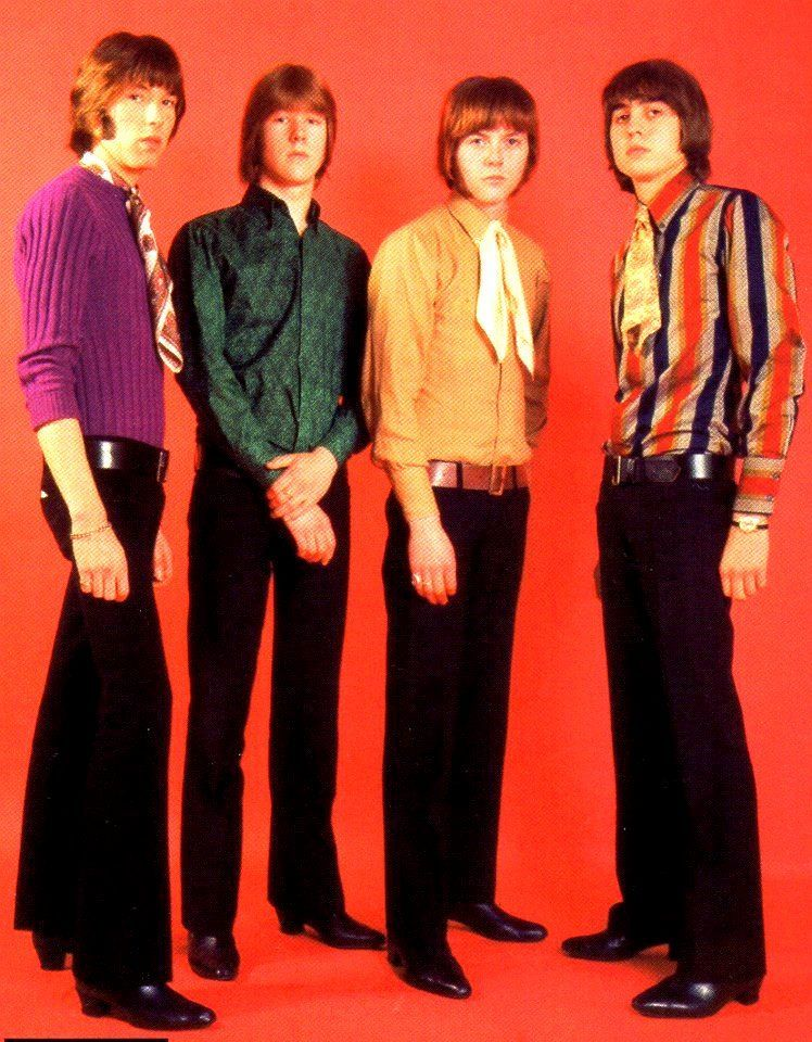 """The Smoke, 1967.. They started out as Mod R&B THE SHOTS w/ one single on Columbia before making the switch to THE SMOKE. Right in that spot between Mod & Psych. Freakbeat Classic """"My Friend Jack"""" was banned from UK radio & ended up being big on the Continent..Never  at home. Much like THE CREATION & EQUALS who had similar feel.""""Have Some More Tea"""" & their other early 45s are some of the best of the era. Their 70s """"Glam"""" Bubblegum 45s like the ridiculous""""Shagalagalu""""are great too."""