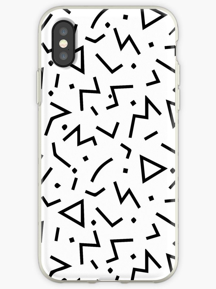 2959918993 Memphis pattern' iPhone Case by Adele Mawhinney in 2019 | ~Phone ...