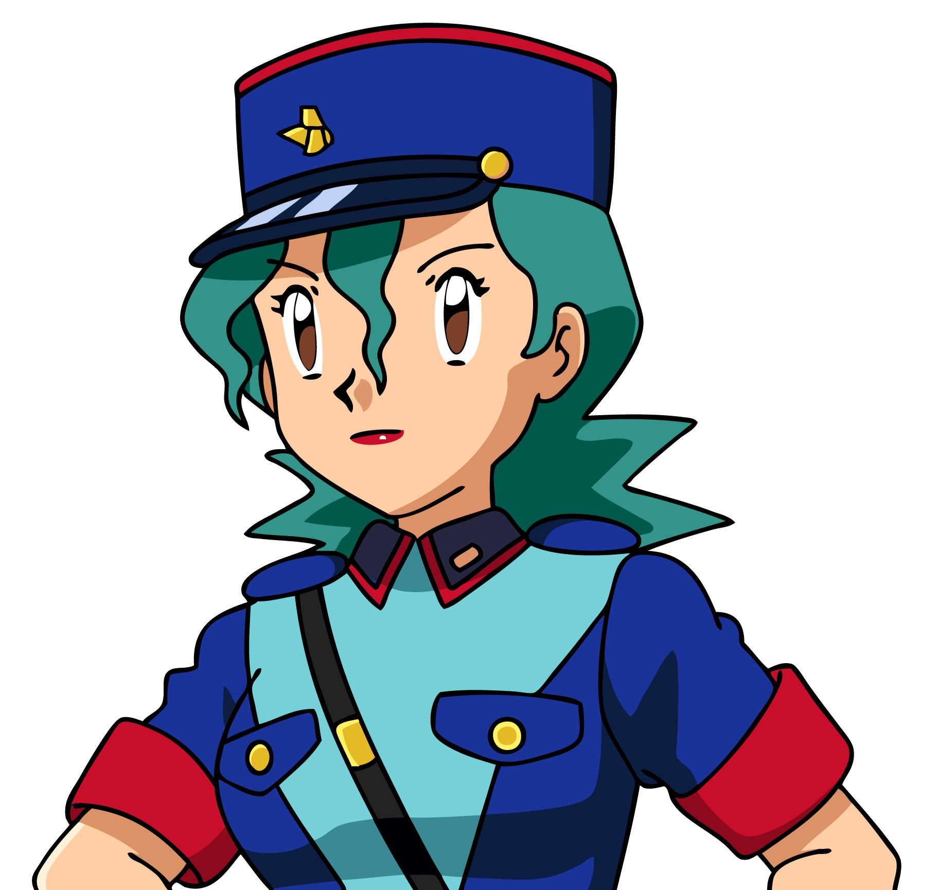 Pokemon X And Y Anime - Officer Jenny by Animemissy123 on DeviantArt