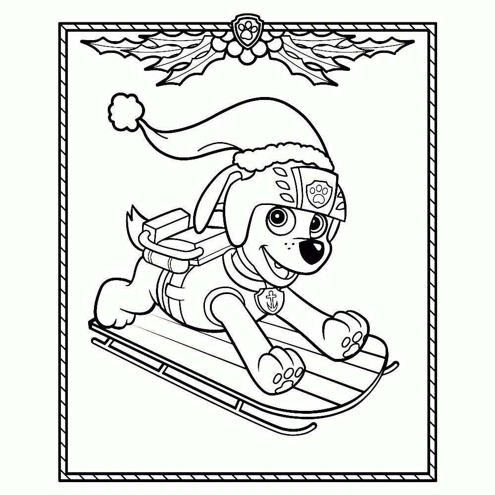 Kleurplaten Paw Patrol.Paw Patrol Kleurplaten Leuk Voor Kids Beste Paw Patrol Kerst 20