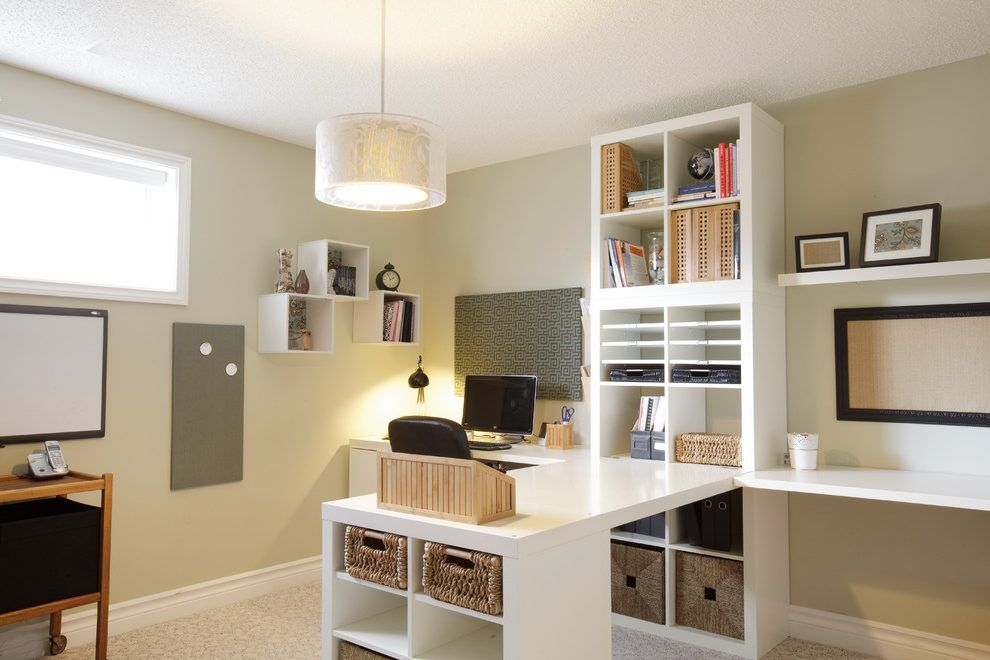 Pin By Falcon On Guest Room Office Ideas Home Office Design Ikea Home Office Home Office Decor