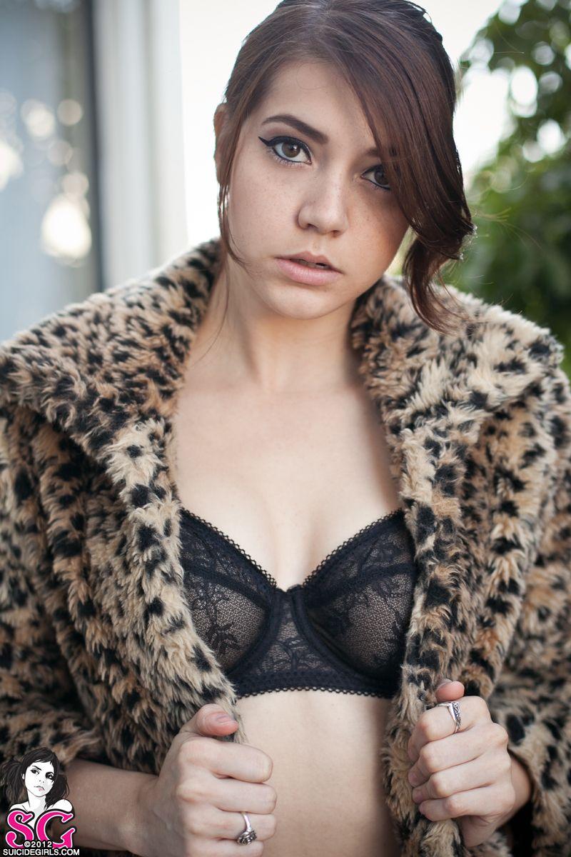 Loving this leopard coat on Rambo!  suicidegirls.com