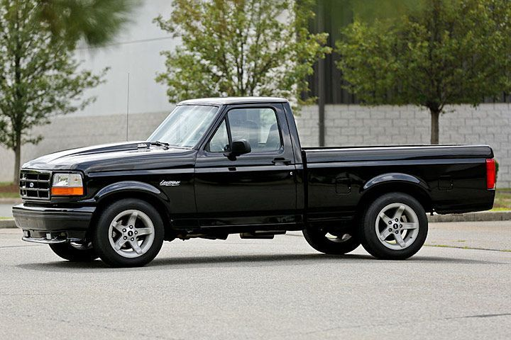 This 90s Ford F 150 Lightning Packs A Supercharged Surprise Ford Lightning Ford Trucks Ford Pickup Trucks