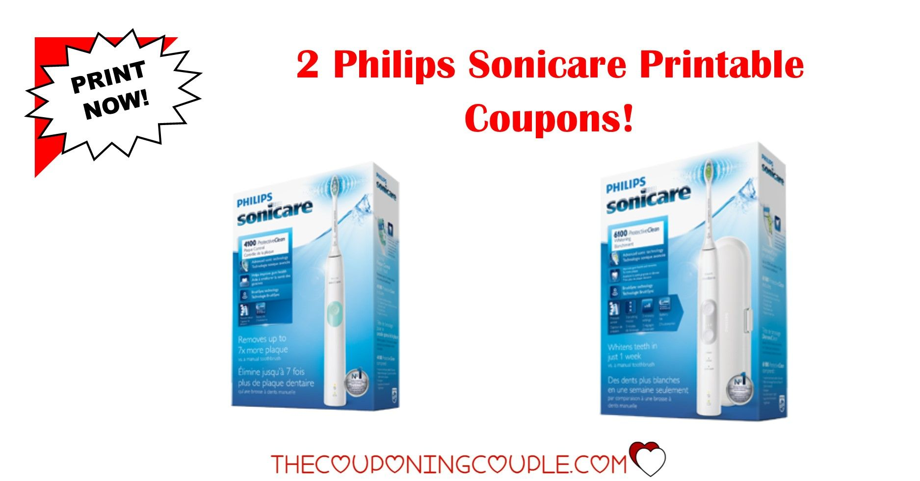 It is a graphic of Hilaire Sonicare Printable Coupon