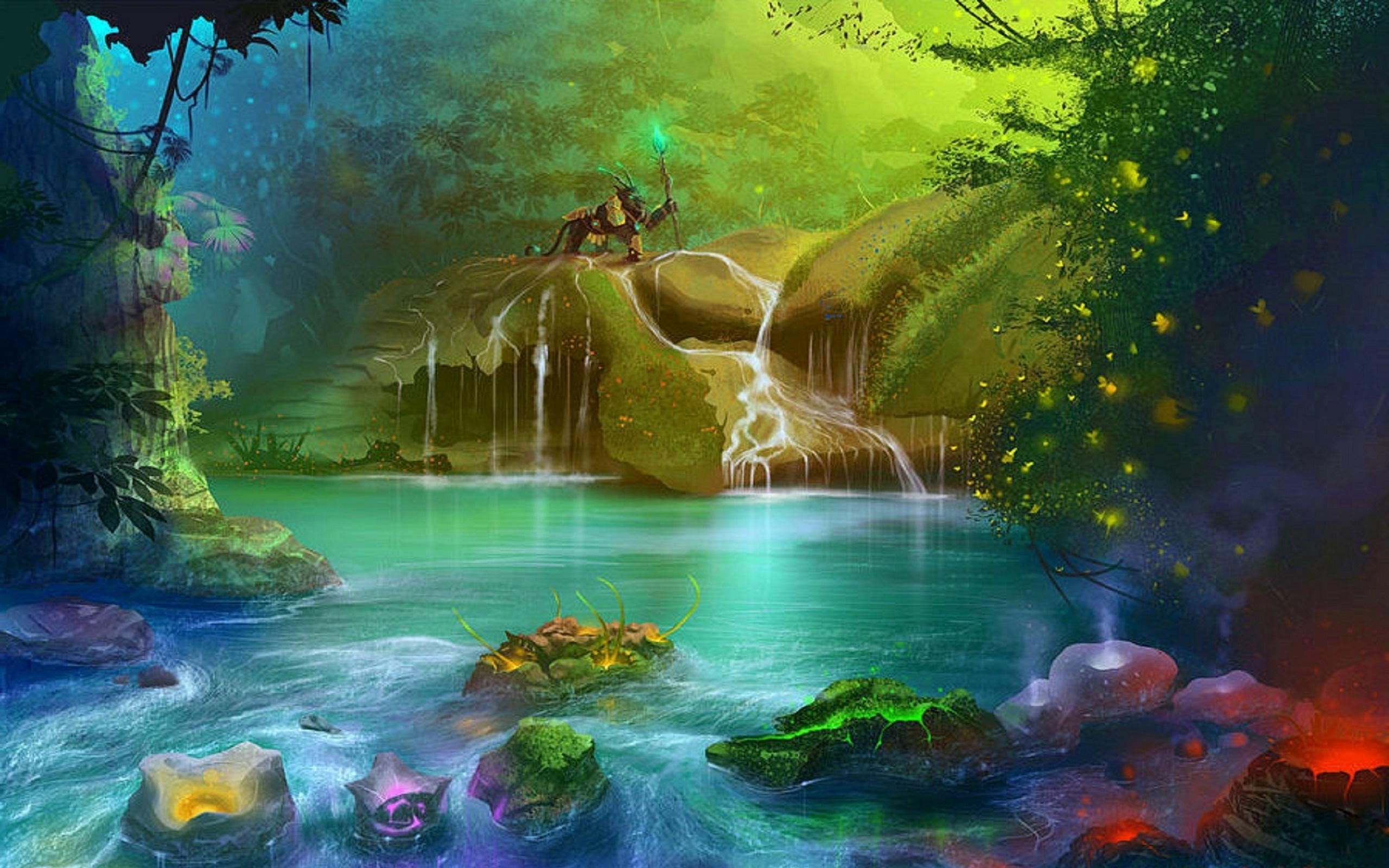 Give Your Desktop A Fantasy Fix Stunning Hd Wallpapers: Spring Fantasy Hd Wallpapers - Google Search