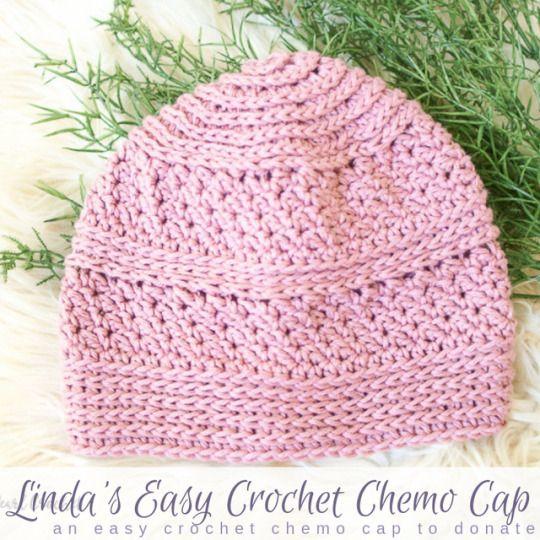 Easy Crochet Chemo Cap Pattern  bull  Salty Pearl Crochet #menscrochetedhats