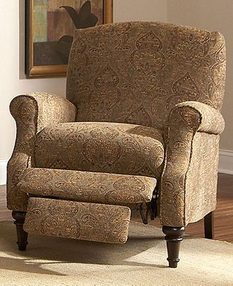 Chloe Recliner Chair, High Leg Country Style   Furniture   Macyu0027s