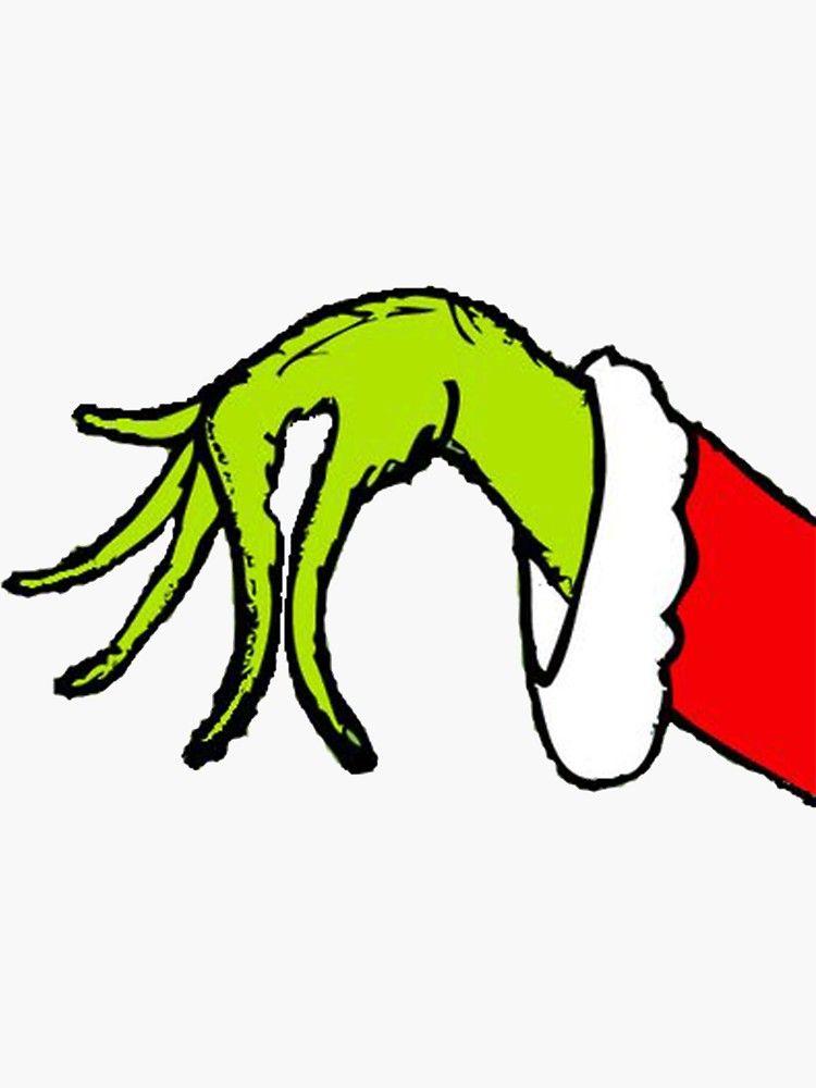 Grinch Hands : grinch, hands, Grinch, Christmas, Hand