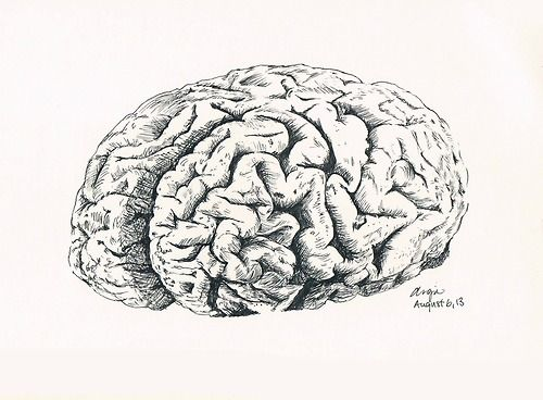 Thoughts. | Illinspiration | Urban sketching, Sketches, Brain