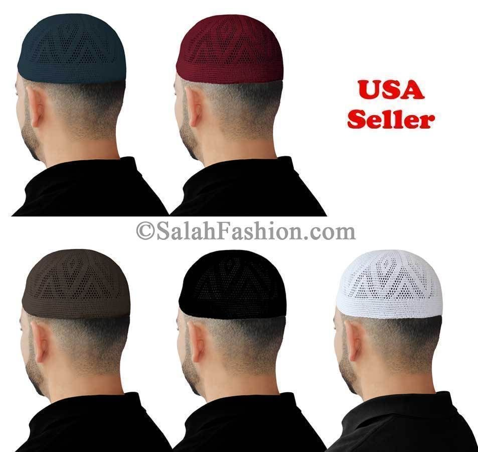 Gorra de Oración Islámica Kufis bfcc05d8876