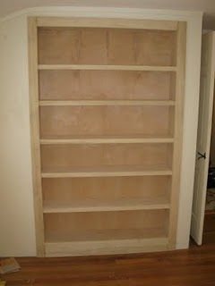How To Convert A Closet Into Bookcase