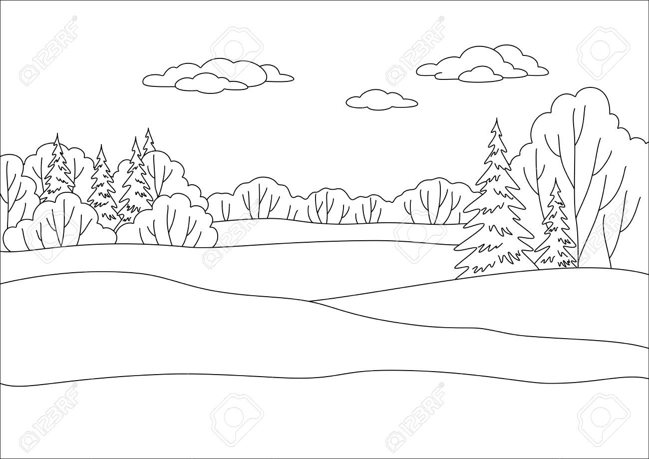 Stock Vector Coloring Pages amp
