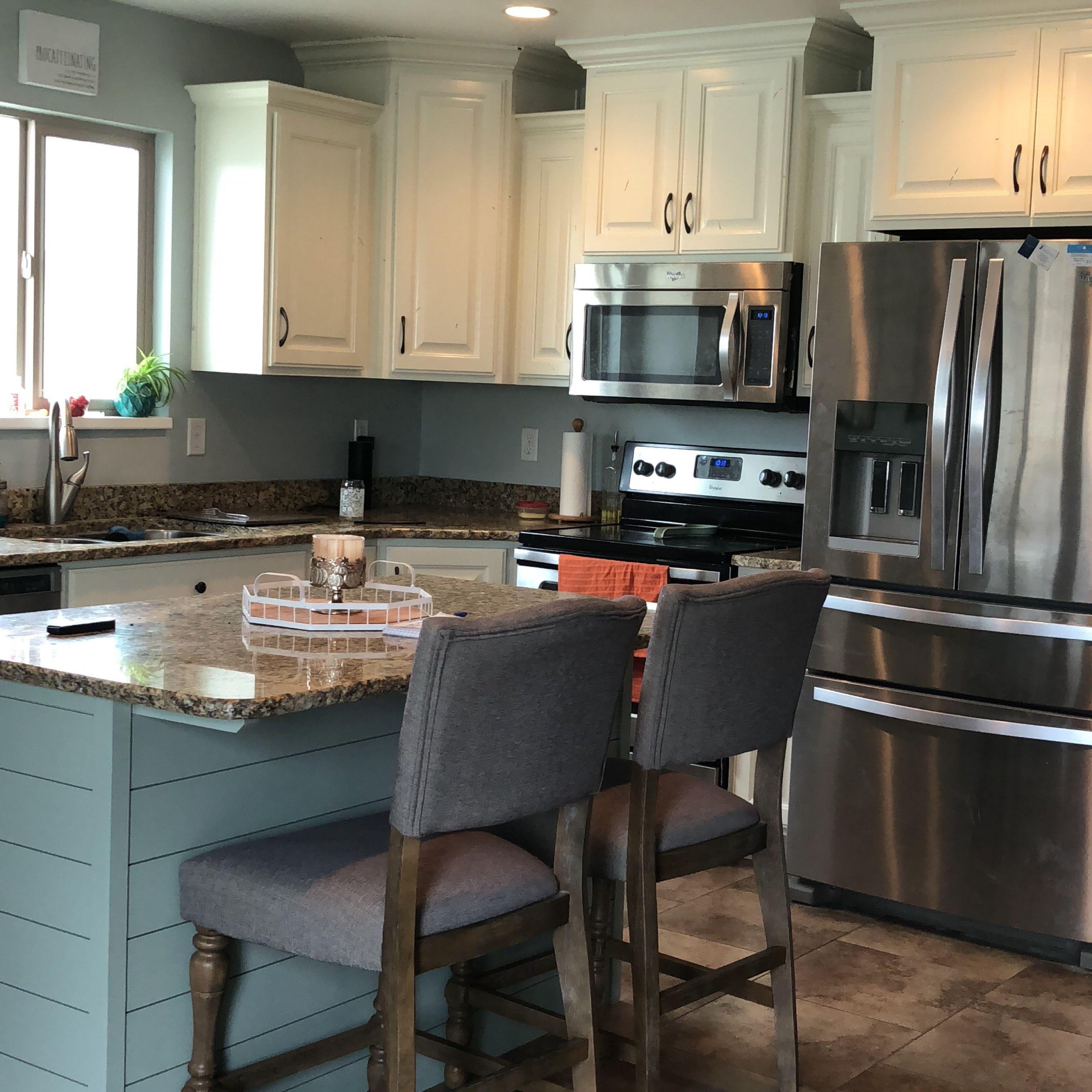Kitchen remodel! Valspar Cabinet Enamel   Kitchen remodel ...