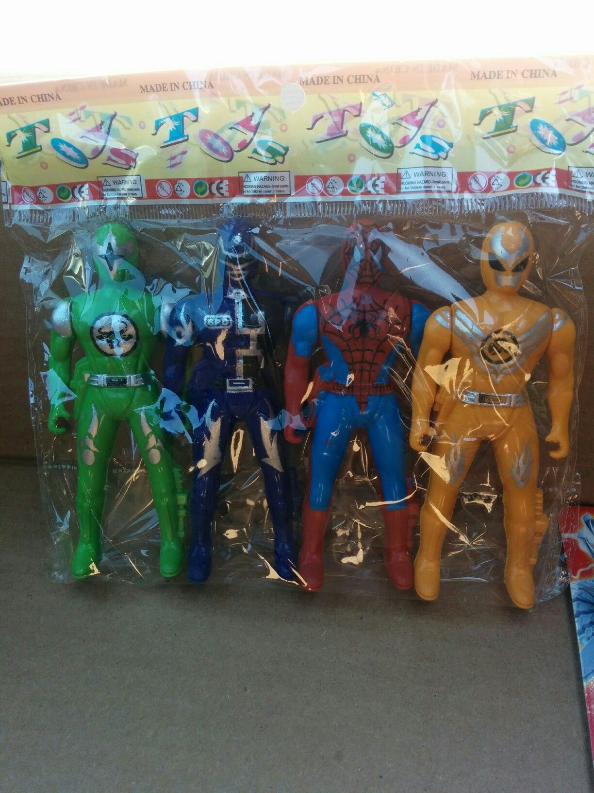 Montreal Power Rangers Spiderman Frosted Flakes Cereal Box