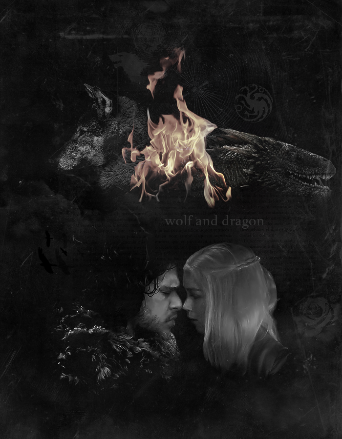 Jon Snow & Daenerys Targaryen | Jon x Dany | Jonerys #GameofThrones #tumblr edit