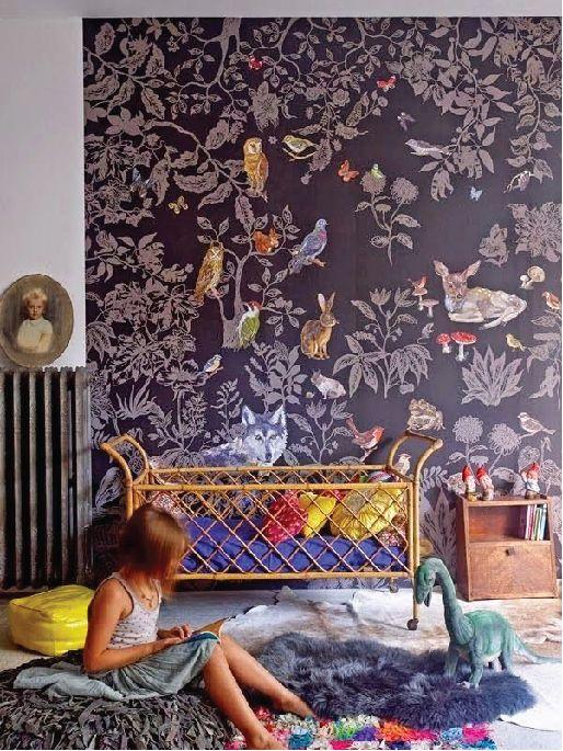 7 Trendy Bedrooms for Kids from the blog of Julie Bluet. www.juliebluet.com