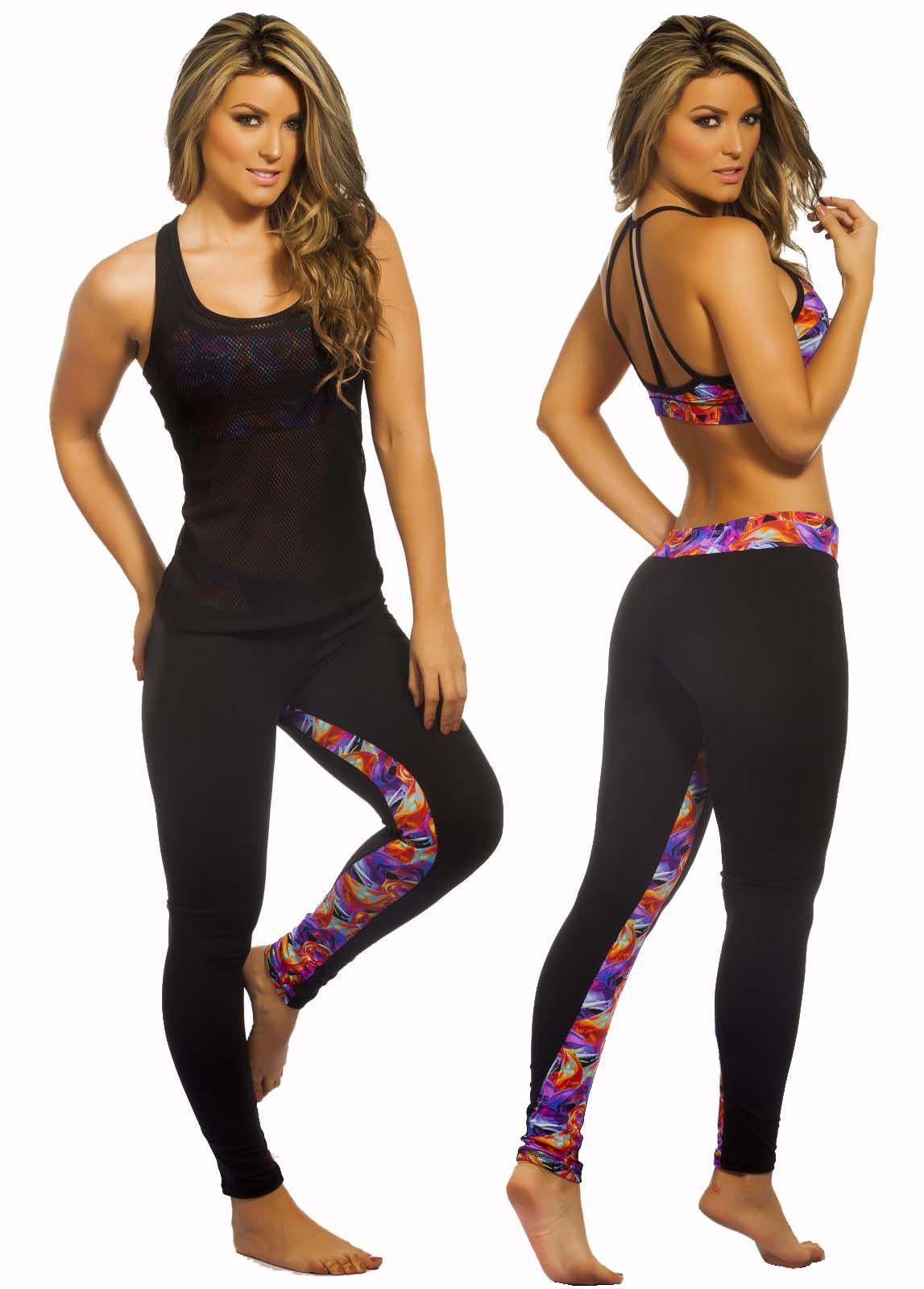 f92eb8333f3f Protokolo 2700 Women Sports Clothing Gym Activewear Fitness Apparel ...