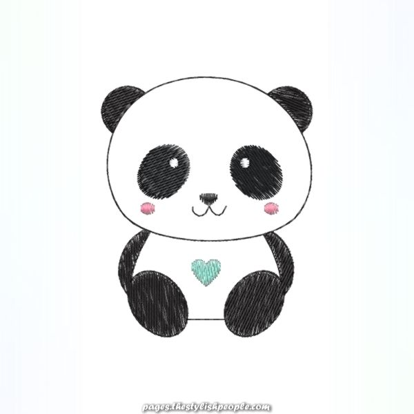 Ursinho Panda Dibujos De Pandas Kawaii Osos Pandas Dibujo Arte De Panda