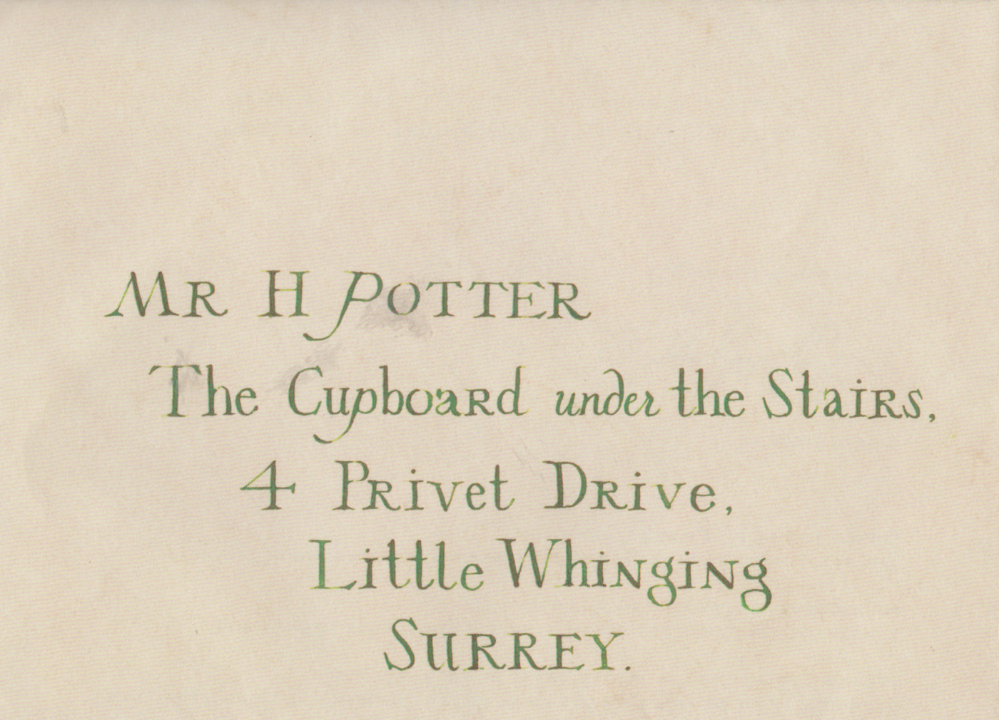 Mr H. Potter (HP Film Wizardry extra)