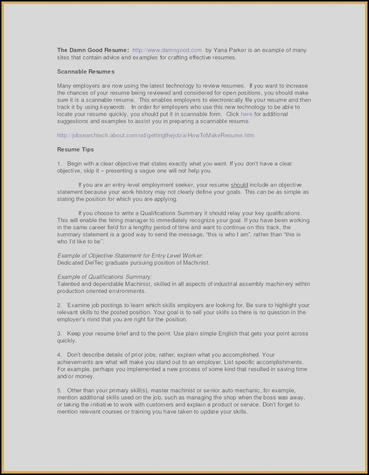 Statement Of Work Template Doc Best Of Resume Objective