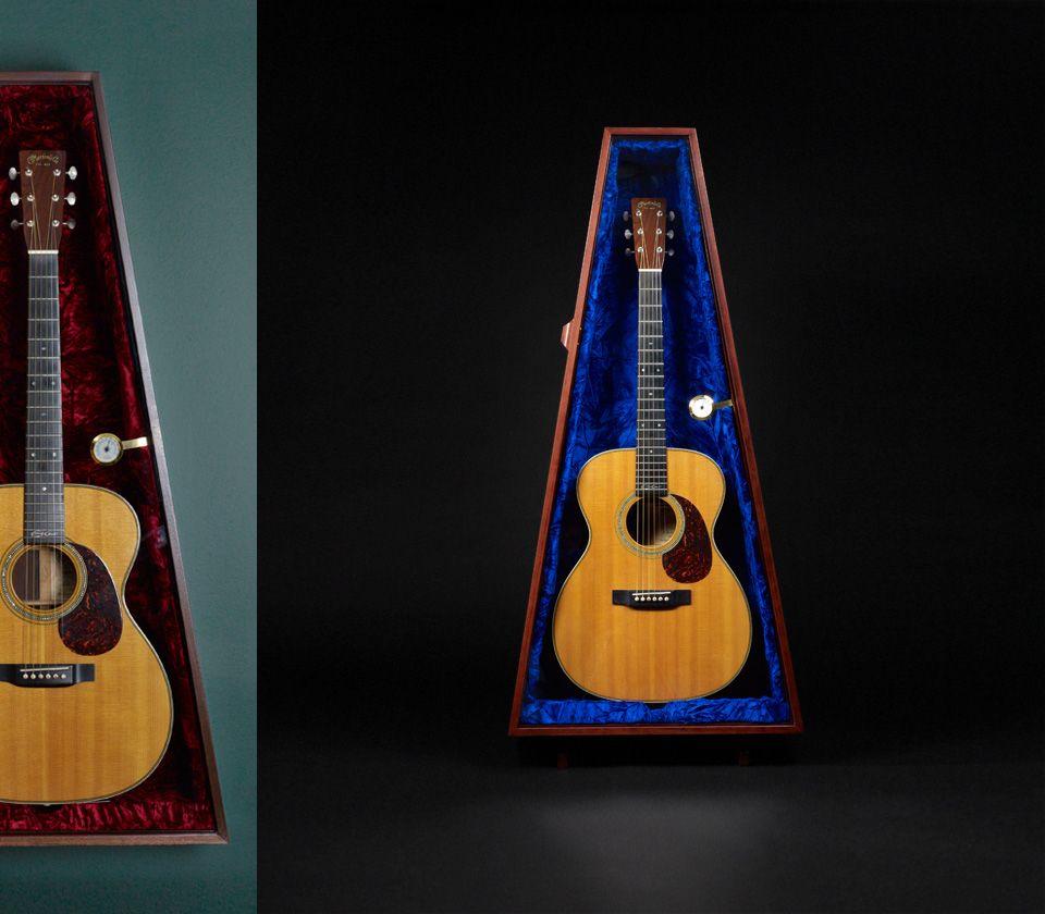 Guitar Humidor Guitar Display Case Guitar Display Humidor