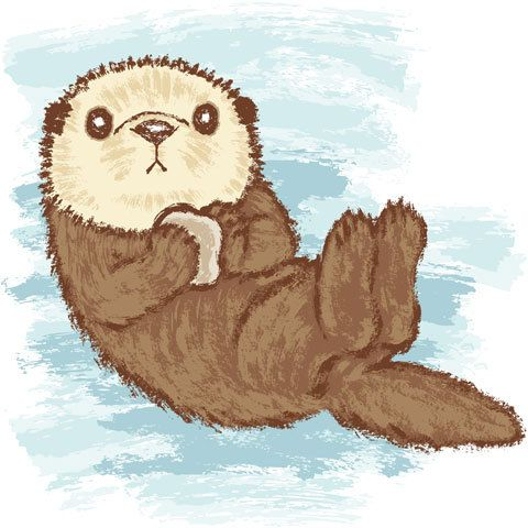 Sea Otter\' by Toru Sanogawa | Sea otters and GSDs | Pinterest ...