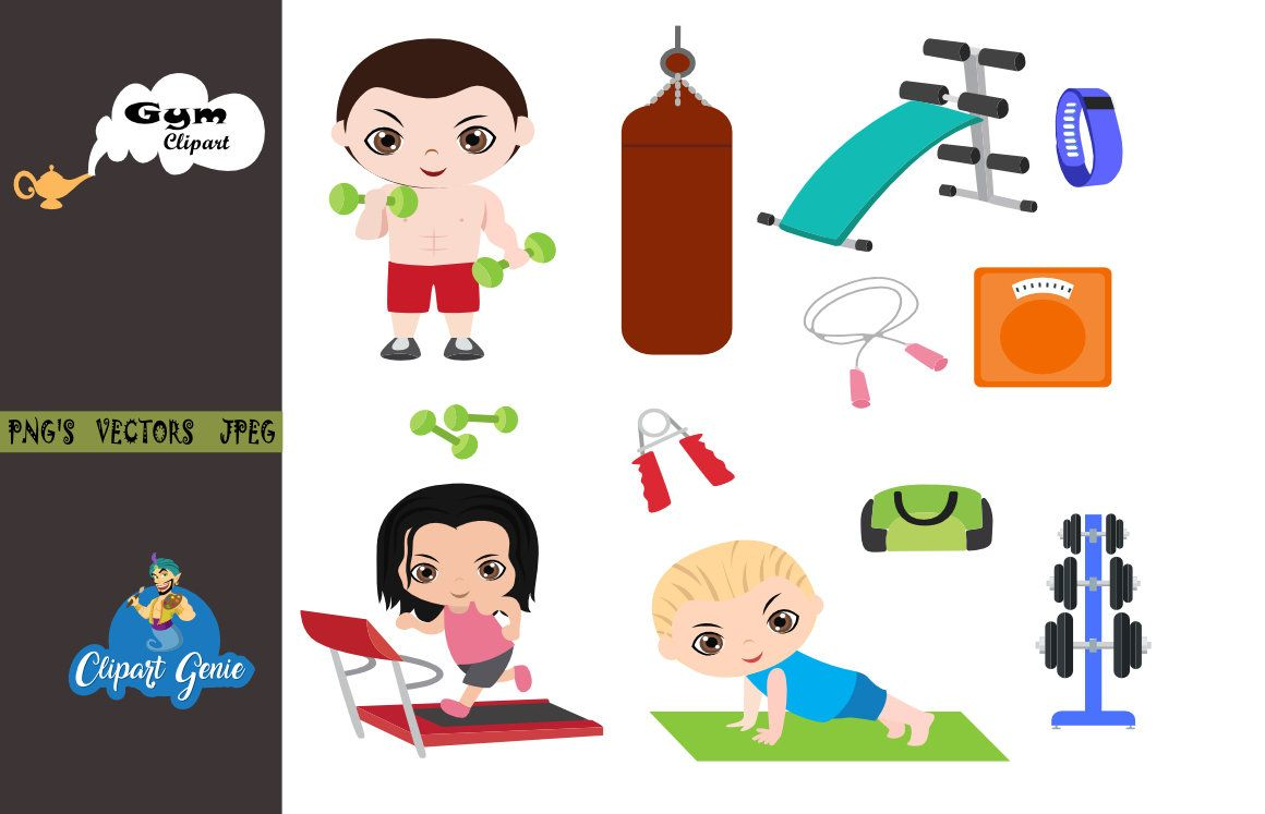small resolution of gym clipart fitness clipart workout clipart exercise clipart dumbbell clipart sports clipart exercising clipart bodybuilding clipart
