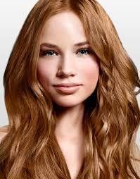 Medium Golden Copper Blonde Strawberry Blonde Hair Color Dark