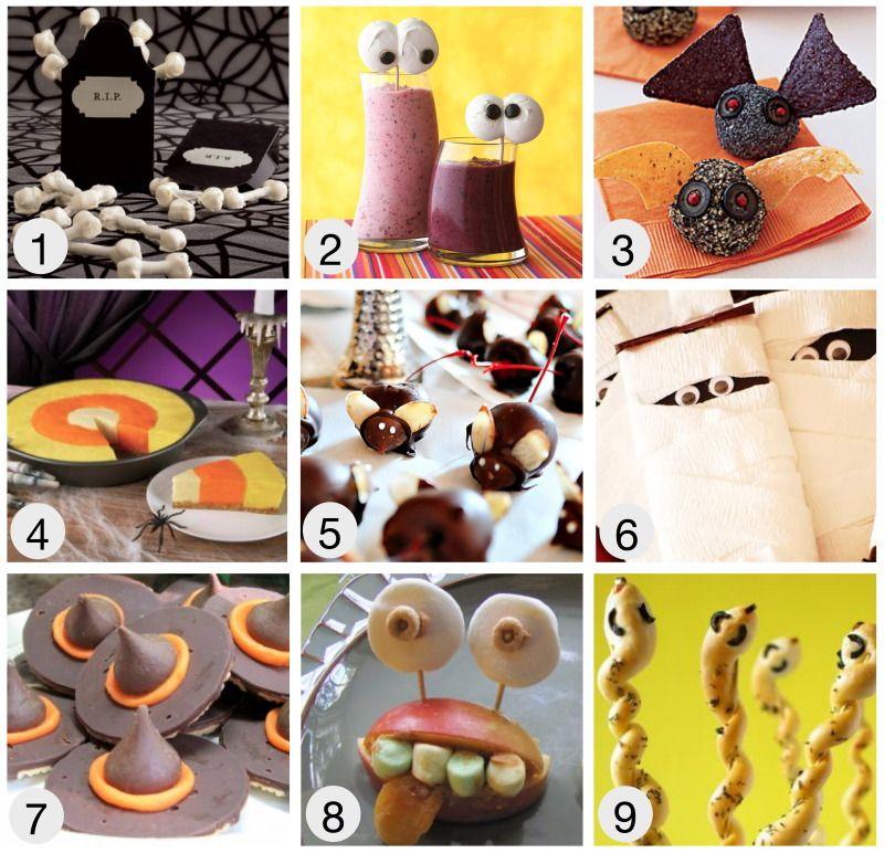 halloween, food ideas for kids Halloween Pinterest Halloween