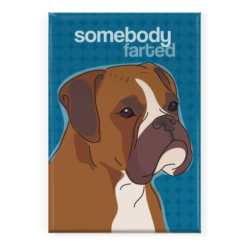 Boxer Dog - Somebody Farted - Pop Doggie Refrigerator Magnets with Funny Sayings, Boxer Dog Gifts Pop Doggie http://www.amazon.com/dp/B00DVBLL9E/ref=cm_sw_r_pi_dp_ck2Bvb1KZFJDK
