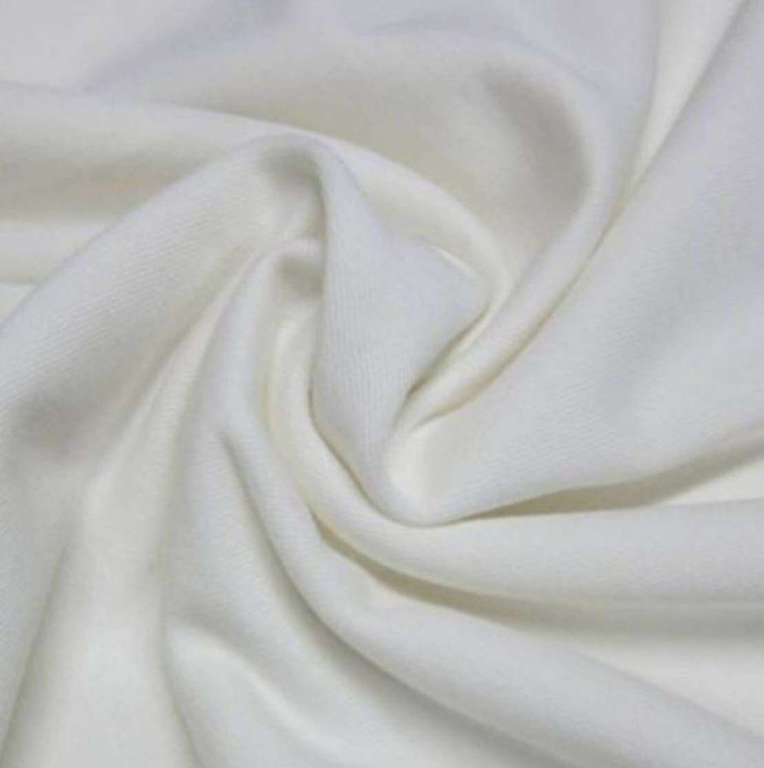 6d8d1bd2149 Natural Bamboo Organic Cotton Extra Soft Jersey Fabric - By the Yard by  SoRad on Etsy