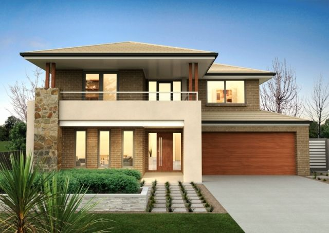 Double Story Modern House Designs Double Story Modern House