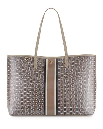 TORY BURCH GEMINI LINK TOTE BAG, FRENCH GRAY. #toryburch #bags ...