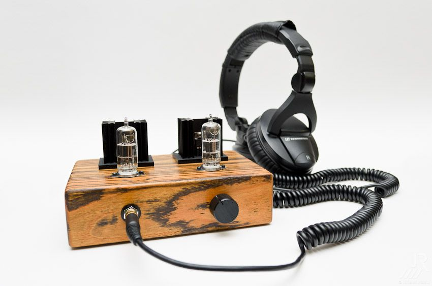 A awesome sounding DIY hybrid tube amplifier  Based on the Millet