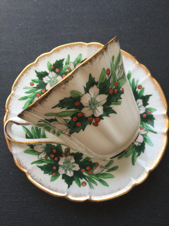 Royal Stafford Christmas Rose Special Occasions by CupandOwl