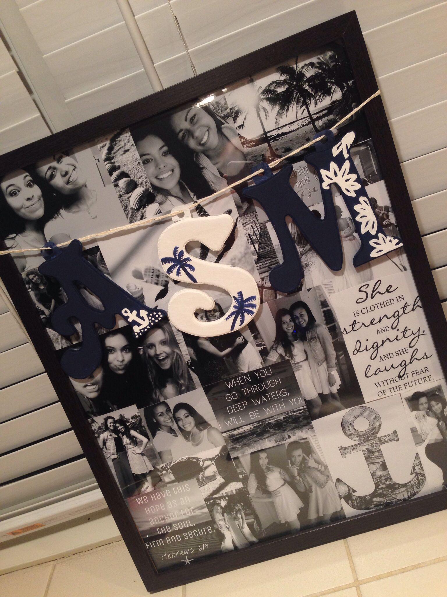 Best friends graduation present! :)   best friends   Pinterest ...