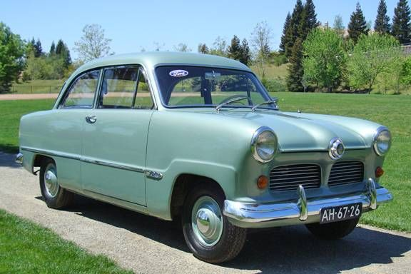 1954 Ford Taunus Sedan Classic Cars New Cars Old Cars