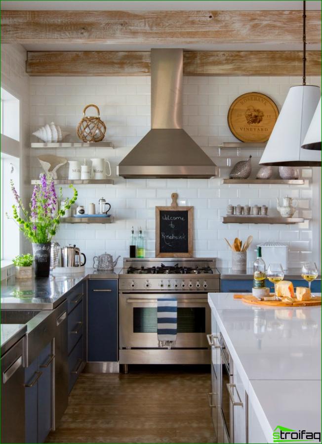 Küche ohne Oberschränke: 75+ erstaunliche funktionelle Ideen | KÜCHE ...